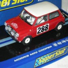 Scalextric: MINI COOPER MONTECARLO SUPERSLOT/SCALEXTRIC NUEVO. Lote 195665287
