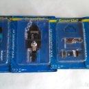 Scalextric: SUPERSLOT SCALEXTRIC INGLÉS UK HONDA RA 107 DE JESON BUTTON, NUEVO, EN BLISTER, SIR MONTAR. Lote 160184100