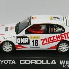 Scalextric: TOYOTA COROLLA WRC ZUCCHETTI RALLYE DE MONTECARLO (SCALEXTRIC UK). Lote 132655630