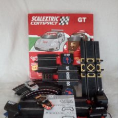 Scalextric: SCALEXTRIC COMPACT GT - AÑO 2009 COMPLETO.. Lote 133050926