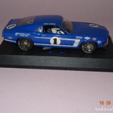 Scalextric: DESCATALOGADO FORD MUSTANG BOSS 302 DE 1969 SLOT ESC. 1/32 DE SUPERSLOT. Lote 133594422