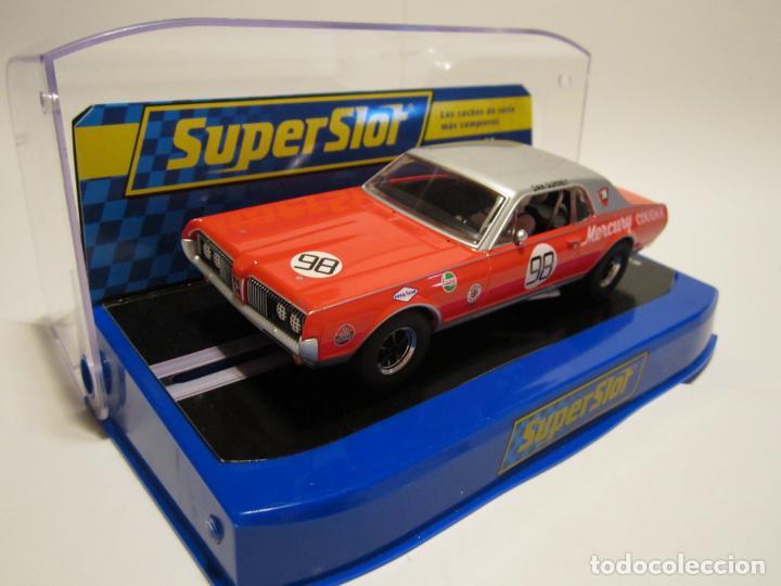 MERCURY COUGAR TRANS-AM DE 1967 NUEVO SUPERSLOT (Juguetes - Slot Cars - Scalextric SCX (UK))