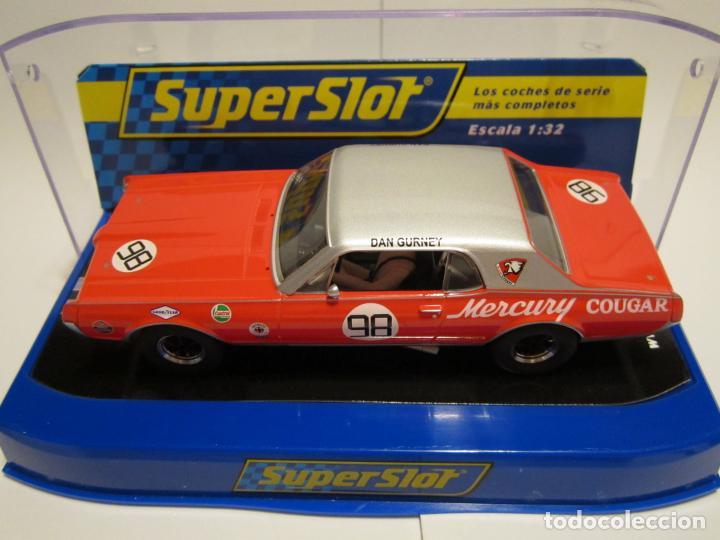 Scalextric: MERCURY COUGAR TRANS-AM DE 1967 NUEVO SUPERSLOT - Foto 2 - 134057498