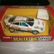 Scalextric: SCALEXTRIC SCX TYCO TOYOTA CELICA EN SU CAJA BUEN ESTADO . Lote 134211266
