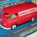 Scalextric: VOLKSWAGEN VAN T1 TEAM PORSCHE SUPERSLOT/SCALEXTRIC UK NUEVA EN CAJA. Lote 143892504