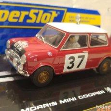 Scalextric: MINI COOPER SCALEXTRIC SUPERSLOT MONTECARLO 1964 NUEVO. Lote 137259462