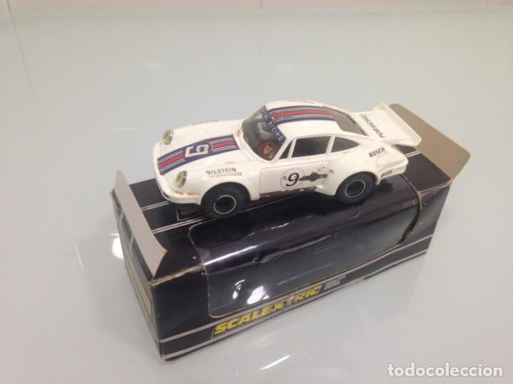 SLOT, SCX, PORSCHE TURBO 935 Nº9, MARTINI, SCALEXTRIC-GB, C.125 (Juguetes - Slot Cars - Scalextric SCX (UK))