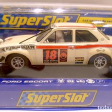 Scalextric: SUPERSLOT H3313 FORD ESCORT MK1 LONDON MEXICO SCALEXTRIC. Lote 139914082