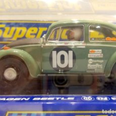 Scalextric: SUPERSLOT VW BEETLE PEKING-PARIS 2007. Lote 140173022