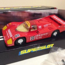 Scalextric: PORSCHE 962 SUPERSLOT. Lote 140534418
