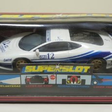 Scalextric: J10- JAGUAR XJ220 ITALY SCALEXTRIC SUPERSLOT H-2013. Lote 142772482