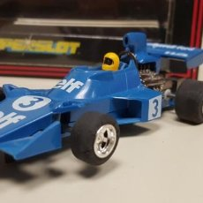 Scalextric: J-TYRRELL FORD 007 SCALEXTRIC SUPERSLOT REF 035 . Lote 142776266