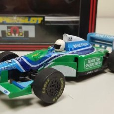 Scalextric: J-FORD BENETTON B193 1994 SCALEXTRIC SUPERSLOT REF 237 . Lote 142793710
