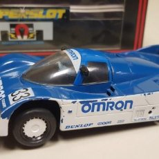 Scalextric: J4- PORSCHE 962 C OMRON SCALEXTRIC SUPERSLOT REF C.145. Lote 142799942