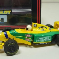 Scalextric: J- FORD BENETTON B193 SCALEXTRIC SUPERSLOT REF C-017. Lote 142801878