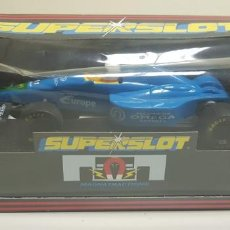 Scalextric: J10- TEAM OMEGA SECURICOR SCALEXTRIC SUPERSLOT REF C.285. Lote 142806398