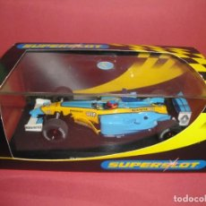 Scalextric: RENAULT F1 FERNANDO ALONSO SUPERSLOT. Lote 142890038