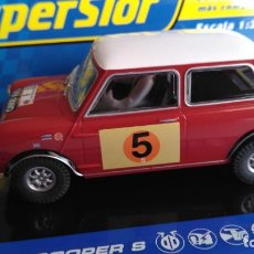 Scalextric: SCALEXTRIC SUPERSLOT UK MINI COOPER S, CON LUCES. Lote 143223526