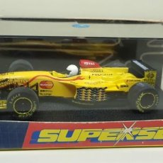 Scalextric: J- JORDAN PEUGEOT 197 F1 SCALEXTRIC SUPERSLOT HORNBY . Lote 143545538