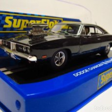 Scalextric: DODGE CHARGER SUPERSLOT NUEVO. Lote 143814622