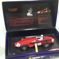 Scalextric: SLOT,SUPERSLOT H2681A,MASERATI 250 F Nº10, FRANCISCO GODIA, 9º GP ITALIA 1957, SLOT MINIAUTO 2005. Lote 144679514