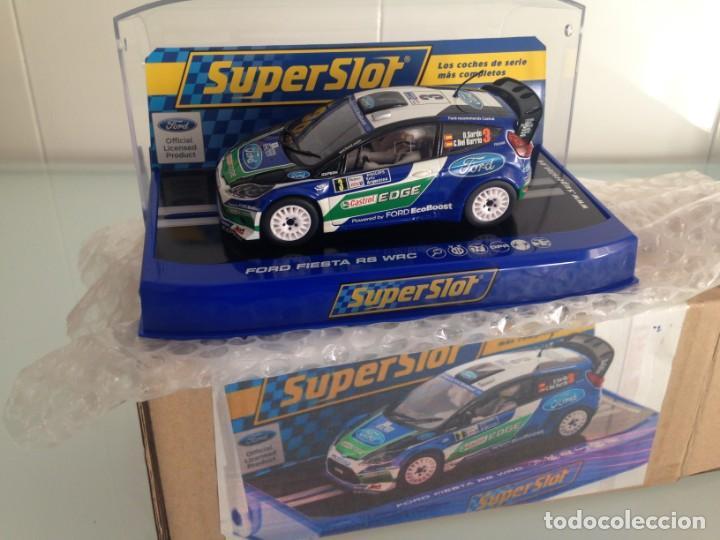 SLOT, SUPERSLOT S3433, FORD FIESTA RS WRC Nº3, DANI SORDO, R. ARGENTINA 2012, SUPERCLUB 2013 (Juguetes - Slot Cars - Scalextric SCX (UK))