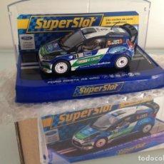 Scalextric: SLOT, SUPERSLOT S3433, FORD FIESTA RS WRC Nº3, DANI SORDO, R. ARGENTINA 2012, SUPERCLUB 2013. Lote 144894714