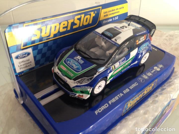 Scalextric: SLOT, SUPERSLOT S3433, FORD FIESTA RS WRC Nº3, DANI SORDO, R. ARGENTINA 2012, SUPERCLUB 2013 - Foto 2 - 144894714