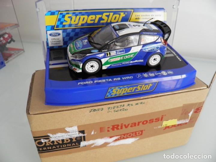 Scalextric: SLOT, SUPERSLOT S3433, FORD FIESTA RS WRC Nº3, DANI SORDO, R. ARGENTINA 2012, SUPERCLUB 2013 - Foto 3 - 144894714
