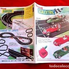 Scalextric: CATÁLOGO SCALEXTRIC 1960. Lote 146577242