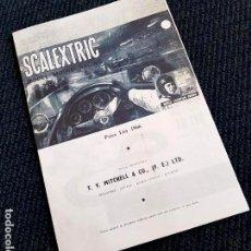 Scalextric: RARO CATÁLOGO SCALEXTRIC 1966. Lote 146579310