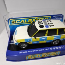 Scalextric: SCALEXTRIC UK RANGE ROVER POLICE CAR C2808 SUPERSLOT. Lote 148092570