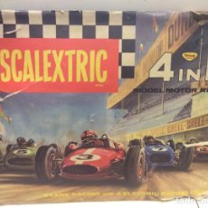 Scalextric: SCALEXTRIC 4 IN 1 MODEL MOTOR RACING. Lote 150014148