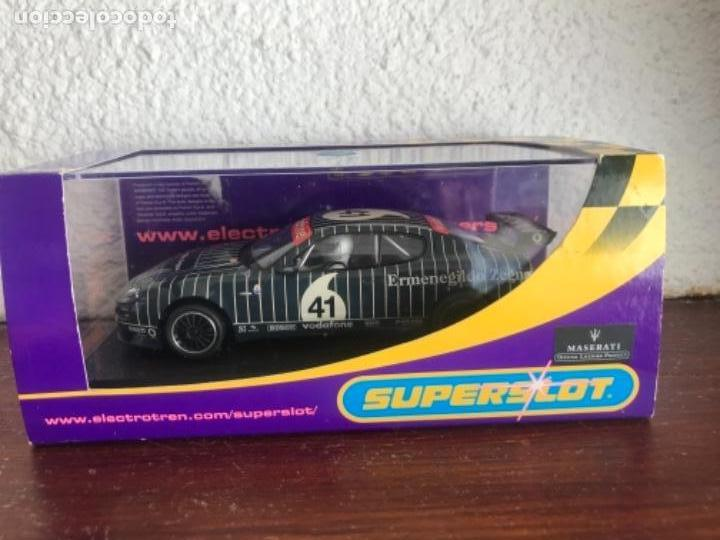 SUPERSLOT, SCALEXTRIC INGLES MASERATI COUPE CAMBIOCORSA TROFEO 2003 Nº 41, REF H2505 (Juguetes - Slot Cars - Scalextric SCX (UK))
