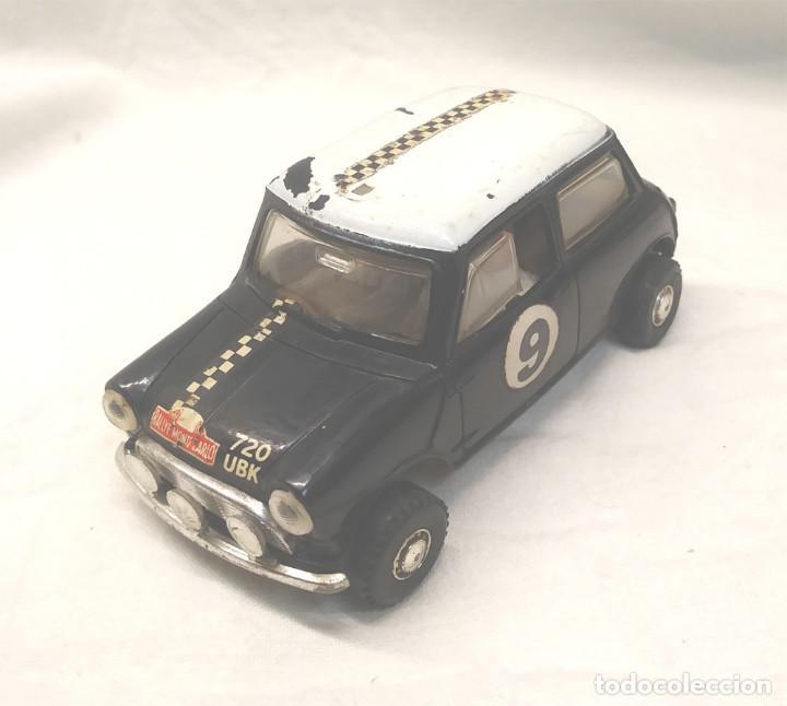 MINI COOPER RALLY MONTECARLO NEGRO C 7 SCALEXTRIC UK AÑOS 60 (Juguetes - Slot Cars - Scalextric SCX (UK))