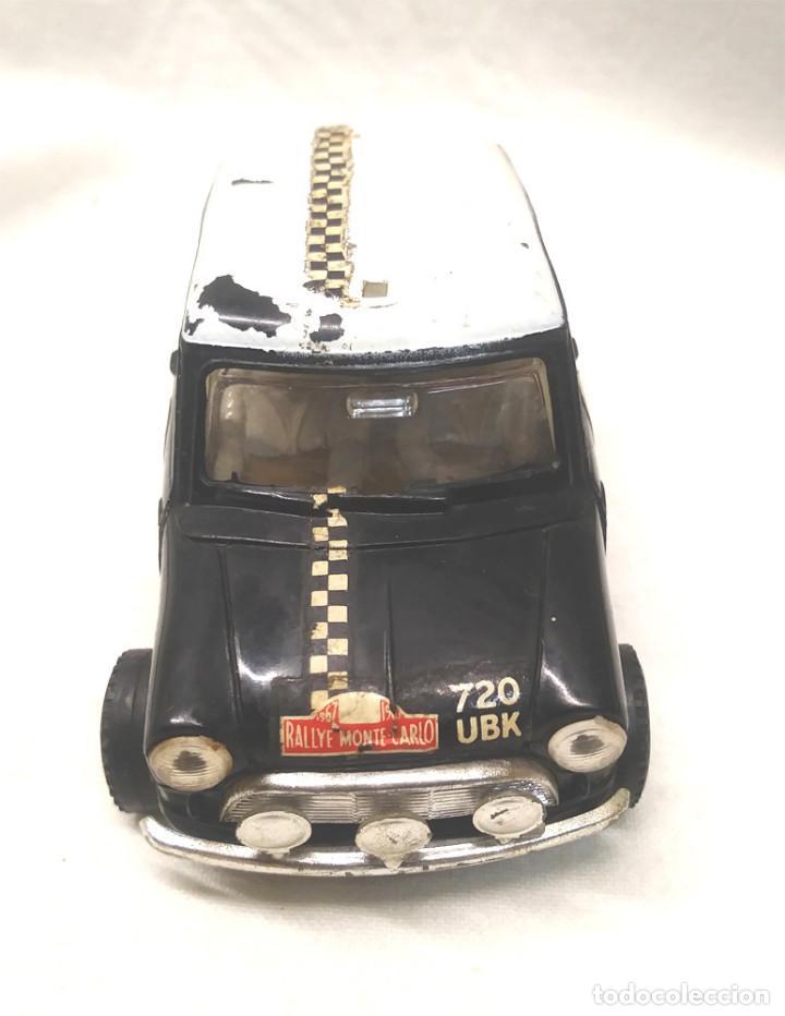 Scalextric: Mini Cooper Rally Montecarlo Negro C 7 Scalextric UK años 60 - Foto 2 - 151509774