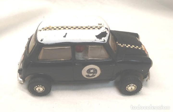 Scalextric: Mini Cooper Rally Montecarlo Negro C 7 Scalextric UK años 60 - Foto 3 - 151509774