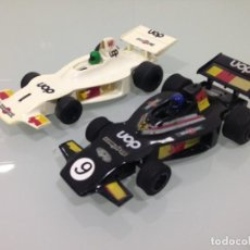 Scalextric: SLOT, SCALEXTRIC C 012, UOP SHADOW DN1, Nº1 Y Nº9, MARTINI, F1-1973. Lote 151874850