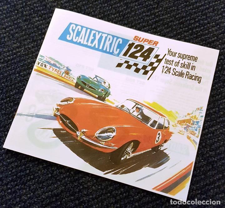 SCALEXTRIC SUPER 124 FOLLETO (Juguetes - Slot Cars - Scalextric SCX (UK))