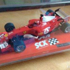 Scalextric: FERRARI F1 2004 MICHAEL SCHUMACHER SLOT 1:32 SCX U.K.. Lote 153219226