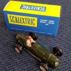 Scalextric: SCALEXTRIC TINPLATE FERRARI VERDE CAJA. Lote 161712948