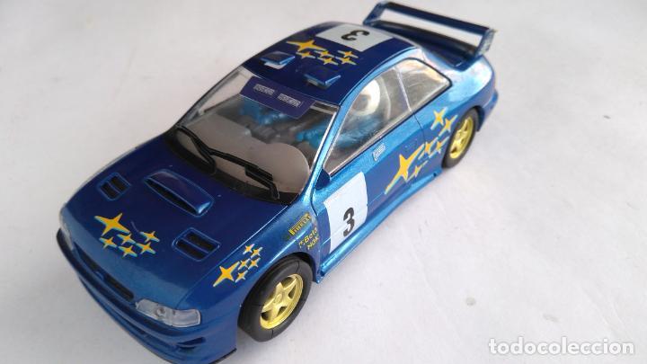 SCALEXTRIC UK INGLÉS SUBARU IMPREZA WRC. (Juguetes - Slot Cars - Scalextric SCX (UK))