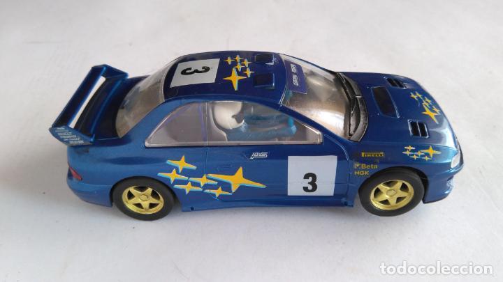 Scalextric: SCALEXTRIC UK INGLÉS SUBARU IMPREZA WRC. - Foto 2 - 154470510