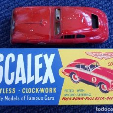 Scalextric: SCALEX TINPLATE ASTON MARTIN CAJA COCHE. Lote 155853478