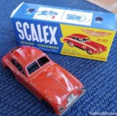 Scalextric: SCALEX TINPLATE ASTON MARTIN CAJA (LEER DESCRIPCIÓN).. Lote 243889410