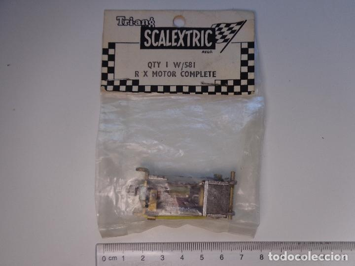 MOTOR RX-1 ORIGINAL SCALEXTRIC TRI-ANG INGLATERRA AÑO 1959, NUEVO EN BLISTER PRECINTADO (Juguetes - Slot Cars - Scalextric SCX (UK))