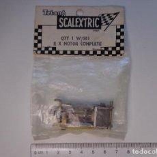 Scalextric: MOTOR RX-1 ORIGINAL SCALEXTRIC TRI-ANG INGLATERRA AÑO 1959, NUEVO EN BLISTER PRECINTADO. Lote 156128342