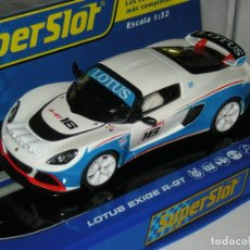 Scalextric: LOTUS EXIGE R-GT SUPERSLOT/SCALEXTRIC. Lote 156705726