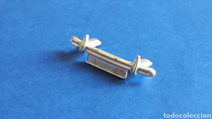 Scalextric: Paragolpes defensa Austin Healey 3000 ref. C-74, Scalextric made in England, original años 60. - Foto 2 - 157293994