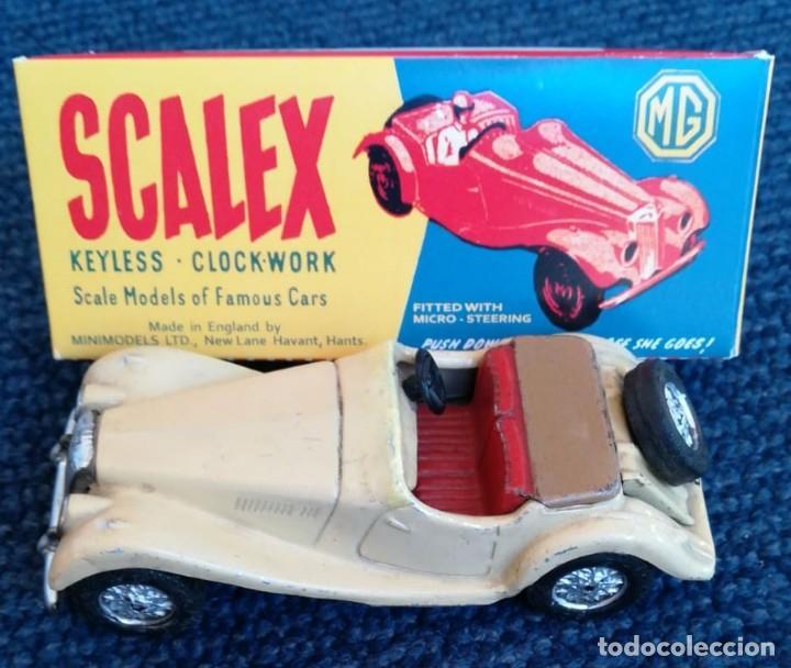 SCALEX TINPLATE MG TF CAJA (LEER DESCRIPCIÓN). (Juguetes - Slot Cars - Scalextric SCX (UK))
